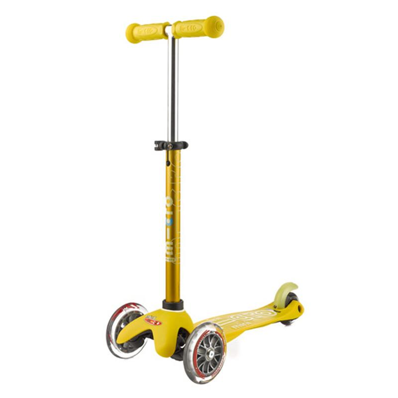 Scooter Micro Mini Deluxe Amarillo