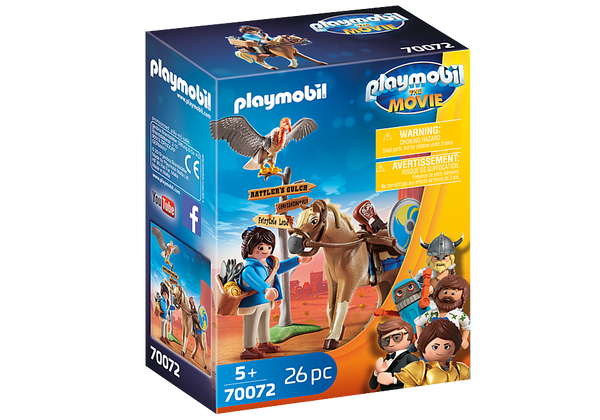 Playmobil The Movie Marla con Caballo