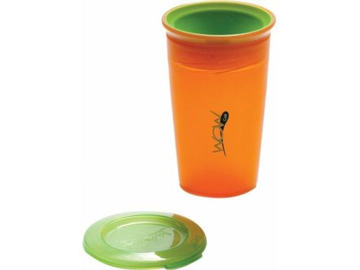 Vaso antiderrame juicy naranjo