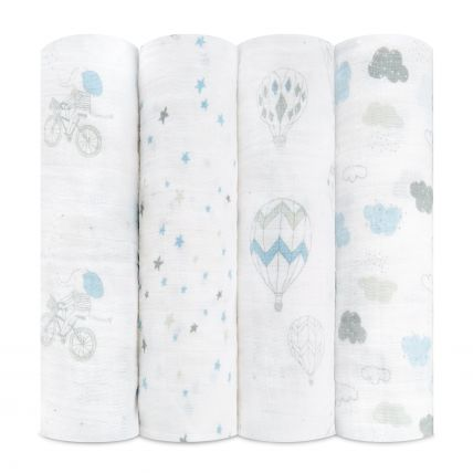 Swaddle 4 pack - Night Sky