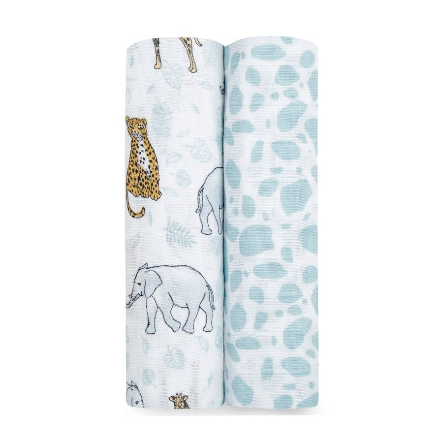 Swaddle 2 pack - Jungle