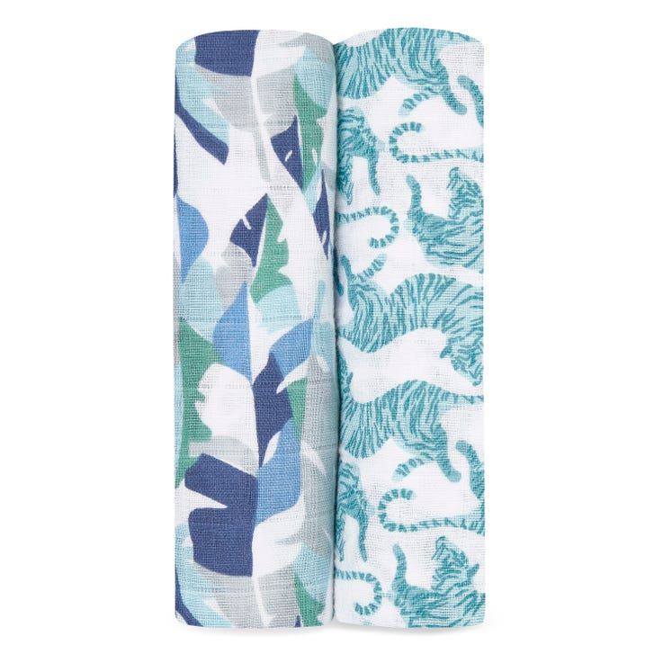 Swaddle 2 pack - Dancing Tigers