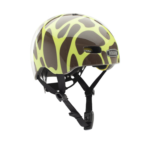 CASCO BABY NUTTY GIRAFFIC PARK GLOSS MIPS XXS