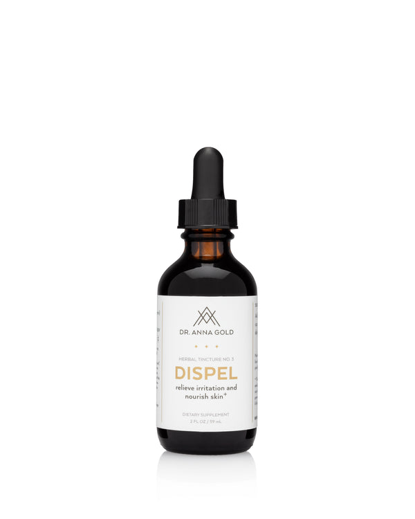 DISPEL. Relieve Irritation and Nourish Skin.
