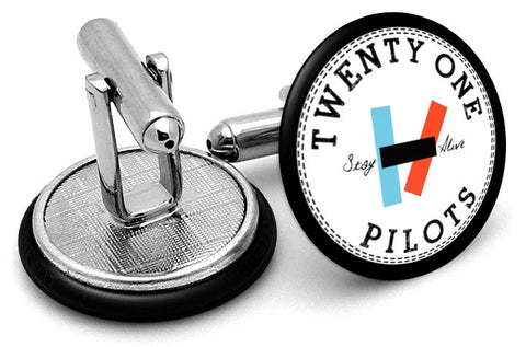 Twenty One Pilots Logo Cufflinks