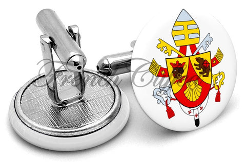 Coat Arms Pope Benedict Cufflinks