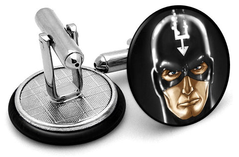 Black Bolt Potrait Cufflinks
