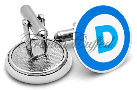 Democratic Party Logo Cufflinks