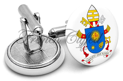 Coat Arms Pope Francis Cufflinks