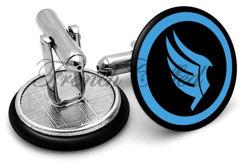Mass Effect Paragon Cufflinks - Angled View
