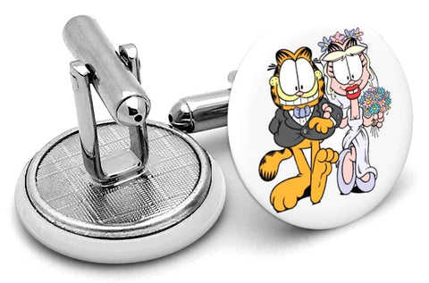 Garfield Arlene Wedding Cufflinks
