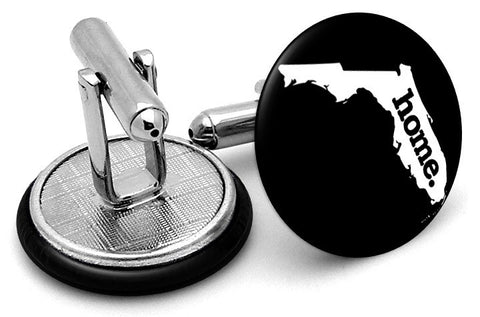 Florida Home State Cufflinks - Angled View