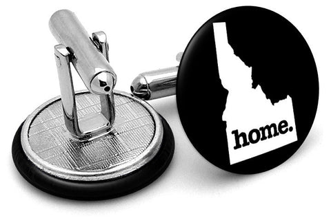 Idaho Home State Cufflinks - Angled View