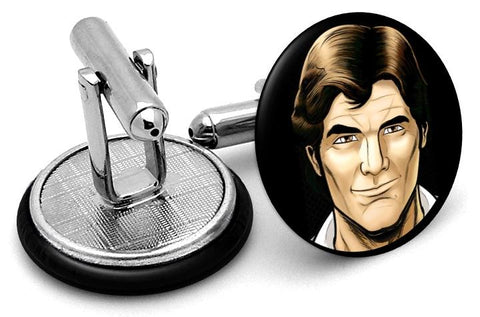 Han Solo Star Wars Cufflinks - Angled View