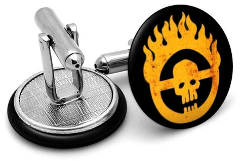 Mad Max Fury Road Cufflinks - Angled View