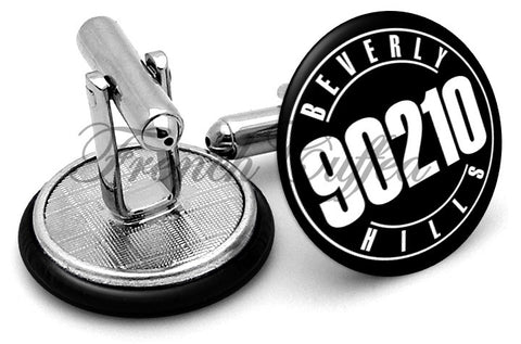 Beverly Hills 90210 Cufflinks - Angled View