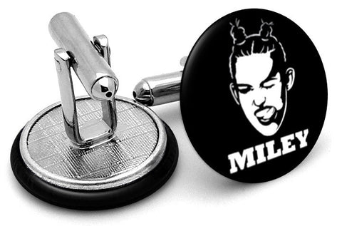 Miley Cyrus Cufflinks - Angled View