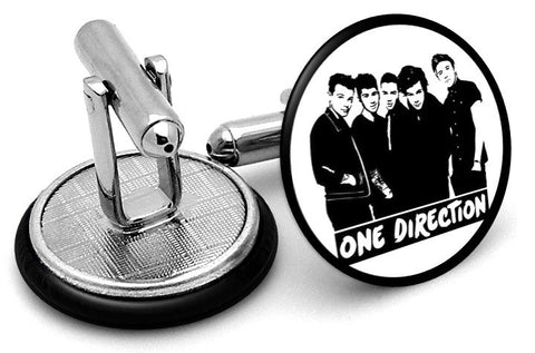 One Direction Cufflinks - Angled View