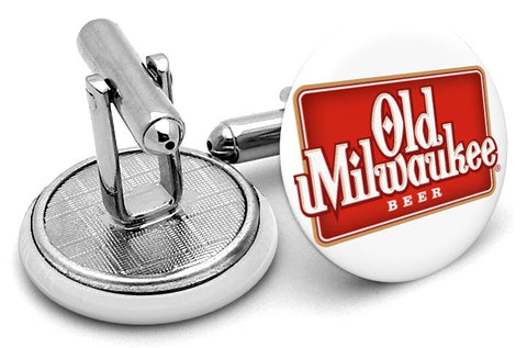 Old Milwaukee Beer Cufflinks