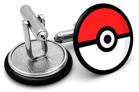 Pokemon Pokeball Go Cufflinks