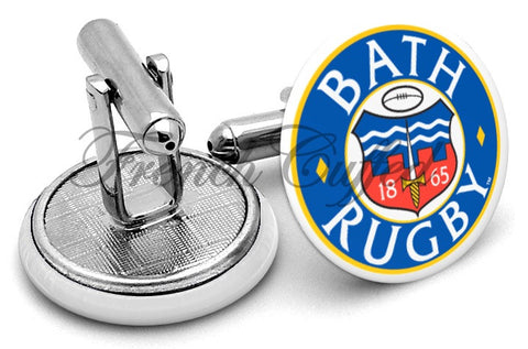 Bath Rugby Cufflinks - Angled View