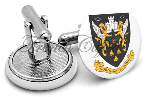 Northhampton Saints Cufflinks - Angled View