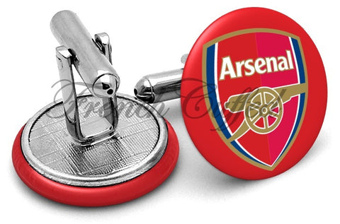 Arsenal FC Cufflinks - Angled View