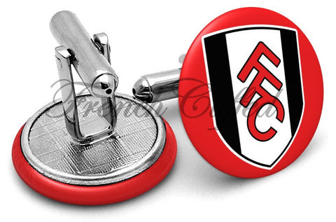 Fulham Football Club Cufflinks - Angled View
