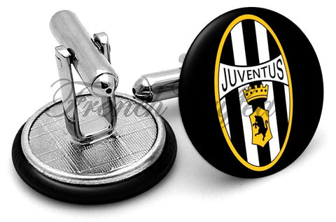 Juventus FC Cufflinks - Angled View