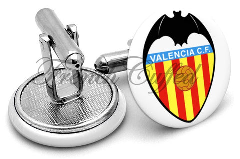 Valencia CF Cufflinks - Angled View