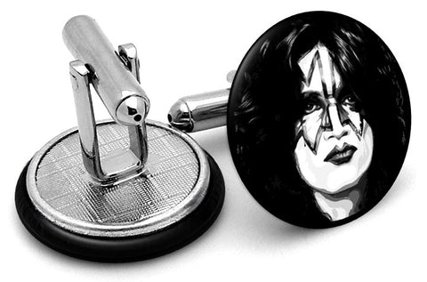Kiss Tommy Thayer Spaceman Cufflinks
