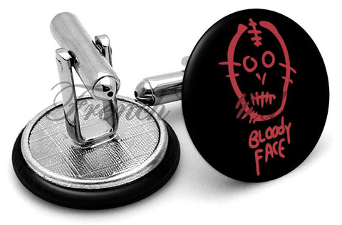 American Horror Story Bloody Cufflinks - Angled View