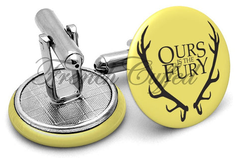 Game Thrones Ours Fury Cufflinks - Angled View