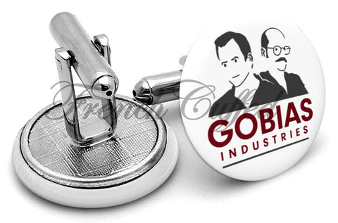 Arrested Development Gobias Industries Cufflinks - Angled View