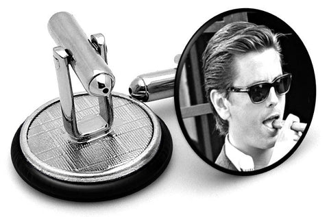 Lord Disick Cufflinks - Angled View