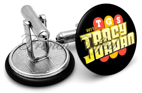 TGS with Tracy Jordan Cufflinks - Angled View