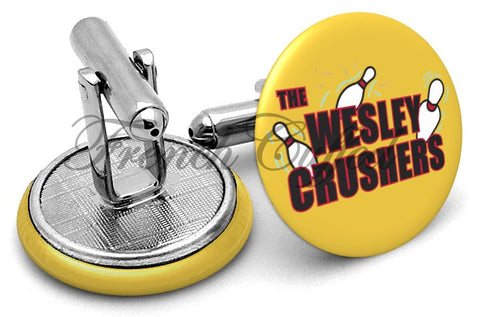Star Trek Wesley Crushers Cufflinks - Angled View