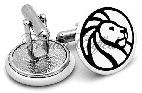 New York Public Library Cufflinks - Angled View