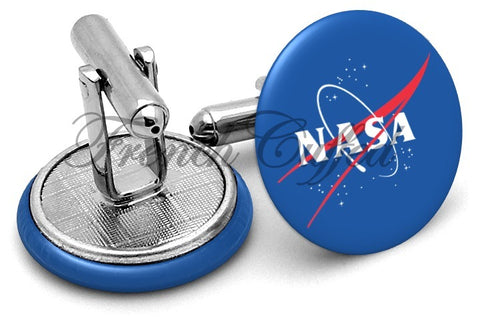 Nasa Cufflinks - Angled View