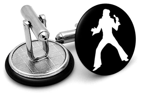 Elvis Presley Dancing Cufflinks