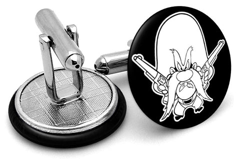 Yosemite Sam Looney Tunes Cufflinks