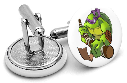 Ninja Turtles Donatello Cufflinks
