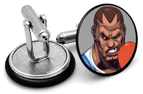 Street Fighter Balrog Cufflinks