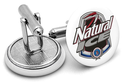 Natural Natty Ice Logo Cufflinks