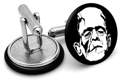 Frankenstein Face Cufflinks