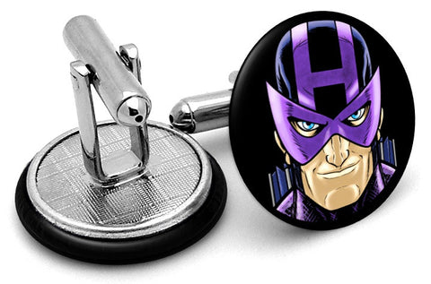 Hawkeye Portrait Cufflinks