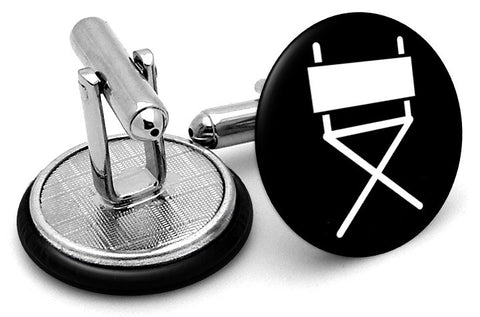 Director Chair Cufflinks