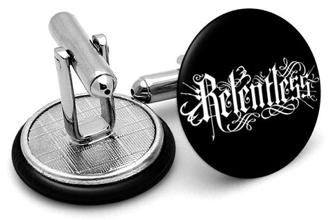 Relentless Energy Drink Cufflinks