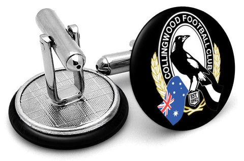Collingwood Magpies Cufflinks
