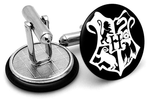 Harry Potter Hogwarts Crest Cufflinks